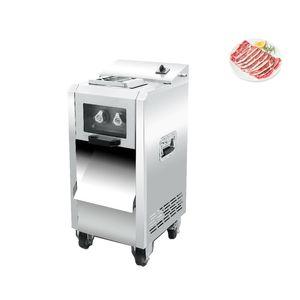 Kommerzieller Edelstahl 220W elektrischer Fleischschneider, Hühnerbrust und Rinderschneider, Kelp und Tree-Shredder
