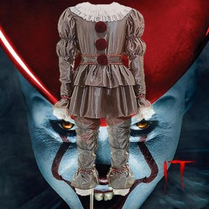 halloween costumes clown clothes women and men role-playing party stage performance clothing different cosplay clothes free shipping