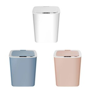 Intelligent Automatic Induction Electric Rubbish Trash Can Smart Battery Type Waste Bins Garbage Storage Basket Cordless SKYMEN