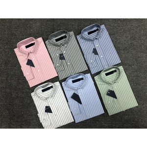 ralph lauren İlkbahar ve sonbahar erkek yüksek kaliteli iş moda klasik t-shirt erkek nakış yeni moda erkek uzun kollu gömlek qwe