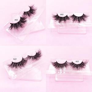 22-25mm fluffy mink eyelashes 3D extra long mink hair eyelashes 3D lashes false Lashes Real Siberian vendor