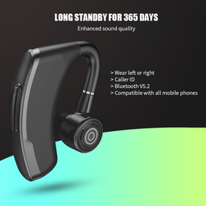 NEW TWS Single Business Earphone Bluetooth V5.2 Wireless Headphone Touch Control Earphones Hifi Handsfree Headset For All Phone
