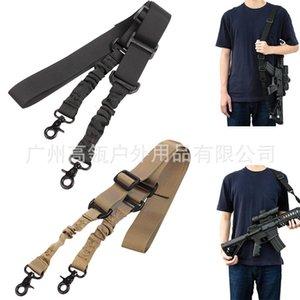 Fans outdoor taktische doppel seil spielzeug crossbar schnelle freigaber pistole gürtel einstellbarer schultergurt zwei punktschlinge