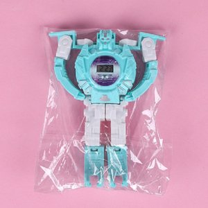 Creative Children's Day Puzzle Deformed Character Toy Boy Girl Student Gift Robots Electronic Watch