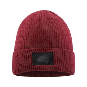 New Mens Beanie Winter Wool Hat New Fashion Womens Knitted Thicken Warm Polo Beanie Bonnet Cap HWF3241