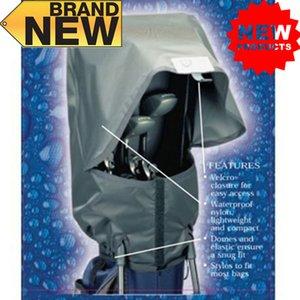 Bolsa de golf cubierta de lluvia impermeable bolsa grande capucha lluvia al aire libre duradera impermeable impermeable a prueba de polvo accesorios negro 1 PC dedo diez 201124