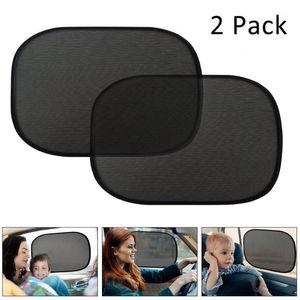 Car Styling 2pcs Car Sun Shade Side Window Eyes Visor Protection Shield Kids Baby Cover Auto Mesh 50 X 30 Cm Sunscreen #WL11