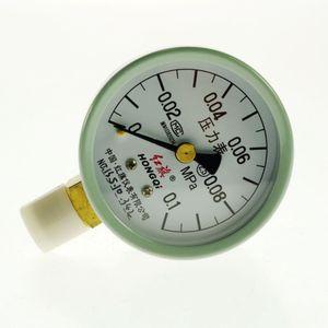 Water Oil Hydraulic Air Pressure Gauge Universal Gauge M14*1.5 0-0.1Mpa order<$18no track