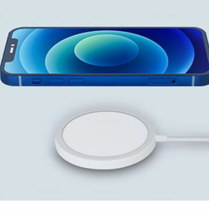 Wireless Magnetic Charger with retail package Qi Cell Phone Charger 15W for iphone 12 mini