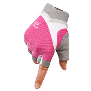 Professional Women Half Finger Gym Equipment Weightlifting Bodybuilding Breathable Nonslip Thin Gloves For Dumbbells Crossfit Q0108
