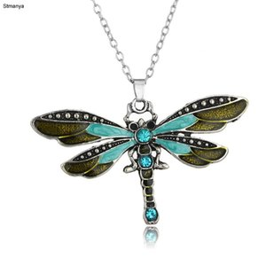 Hot Women Fashion Cute Retroowl Fashion Necklace Dragonfly New Necklace Best Gift jewelry N1095
