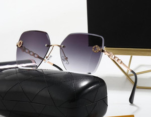 Alta Qualidade Clássico Piloto Sunglasses Designer marca Mens Womens Sun Óculos Óculos De Vidro De Vidro Quadrado Quadros de Lentes Com Caixa