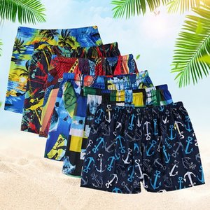 Swimming trunks men's anti embarrassment hot spring sexy men's flat angle swimsuit quick drying swimming trunks loose Size Swimsuit suit