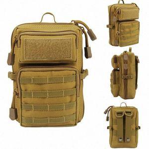 Senderismo Trekking Mochila deportes Escalada Bolsos de hombro Tactical Camping Hunting Daypack Pesca Bolso de hombro al aire libre Y5D7 #