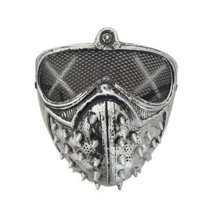 TRLPR Halloween Punk Rebite Diabo Devil Xhlight Masquerade Cosplay Reaper Masks Grim Mask Nsabe