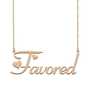 Favored Name Necklace , Custom Name Necklace for Women Girls Best Friends Birthday Wedding Christmas Mother Days Gift