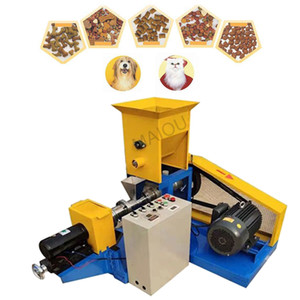 Precio al por mayor Barato Hogar Electric Puffed Fish Shrimp Bullfrog Cangrejo Feed Extruser / Fioating Fish Feed Pellet Pellet Machine