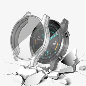 For Huawei watch GT 2 TPU Case 46mm Silicone Shockproof Protective Cover gt2e 46mm Smart Watch Soft TPU Protector Shell Frame