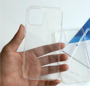 Armure hybride acrylique acrylique transparente antichoc pour téléphone 12 11 PRO XS max xr 8 7 6 Plus pour Samsung S20 Note20 Ultra A012