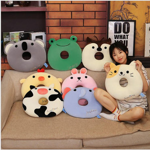 New Hot Selling Plush Toys Cushion Pillow Office Seat Cushion Sleeping Pillow Stuffed Animal Creative Gifts for Friends New Year Christmas