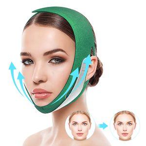 Facial Slimming Strap,Double Chin Lifting Belt Graphene V Line Face Lift Up Band, Sagging Face Shaper band
