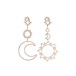 Hot Bohemia Women's Earrings Fashion Personality National Style K Gold Earrings Classic Jewelry Supply