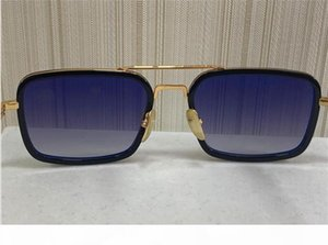 High-End-Sonnenbrille Herrengläser Herren Designer Sonnenbrille Frauen Luxus Designer Sonnenbrille Männer Luxus Designer Sonnenbrille 008 Quadrat F
