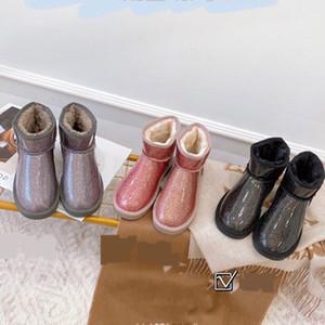 LMFE JIANBUDAN Водонепроницаемые снежные сапоги женские клинские повседневные плюшевые сапоги 35-42 зимняя теплая женская обувь большой размер дождя дождя