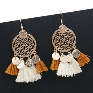 Tassel Earrings Designer Jewelry Korean Pendants Decorations for Girls Long Gothic Earrings Vintage Earrings Punk Style