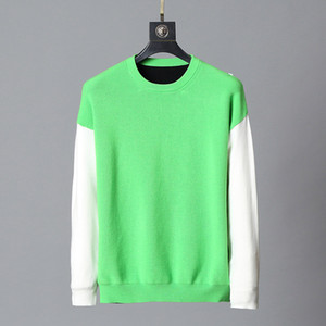 Стилист белый капюшон мужской роскошный капюшон толстовка мужчины женские свитер с капюшоном рукава пуловер бренд толстовки уличные одеяла модные свинцы