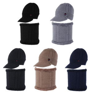 Winter Hat Beanies Hats Winter Beanies For Men Women Wool Scarf Caps Balaclava Mask Bonnet Knitted Hat