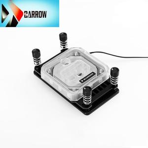 Barrow AMD AM4 CPU water block cooling RGB processor cooler 2.0 5v light black white