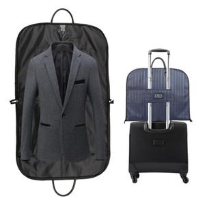 Dustproof Hanger Organizer Travel Coat Case Clothes Accessories Clothing Covers Portable Men Suit Storage Bag
