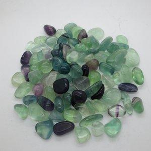 pedra natural15 ~ 25mm de cristal de ágata de turquesa Ametista caiu pedra irregular na bolsa para cura Reiki Desejando pedras afortunadas