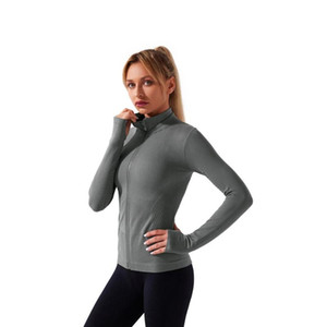 Custom New Design Yoga Women Jacket Sport Compress Long Sleeve Fitness Jacket Women Fitness Body Shaper