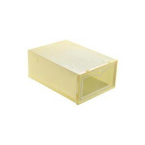 Thicken Clear Plastic Shoe Boxes Dustproof Shoe Storage Box Transparent Shoe Boxes Candy Color Stackable qylRXT my_home2010