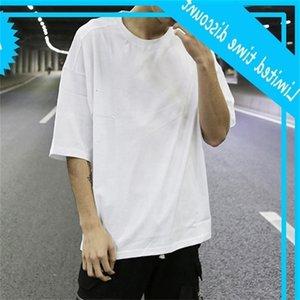 CLASSIC Oversized Plain Color Crew Collo Uomo Manica corta Allentati T-shirt traspirante T-shirt Summer Streetwear Streetwear Unisex Tag personalizzati