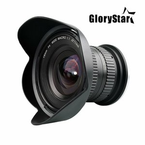 GloryStar 15mm F 4 F4.0-F32 Ultra Wide Angle 1:1 Macro Lens for Canon Nikon Digital SLR DSLR Cameras