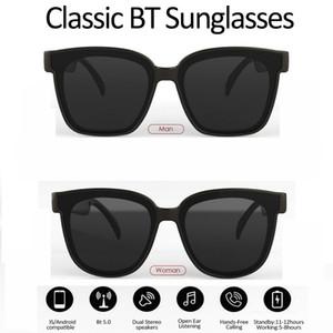 Top Bluetooth-Sonnenbrille mit offener Ohrtechnologie machen Freisprecheinheiten Genießen Sie die Freiheit von Wireless Mobile Anrufe Bluetooth-Kopfhörer und mehr