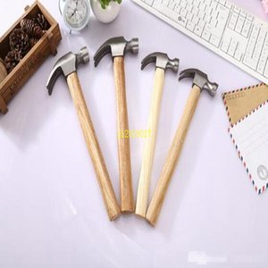 50Pcs 290mm 320mm High Quality Natural Wood Handle Steel Claw Hammer Multi-function Safety Outdoor Home Decoration Hammer