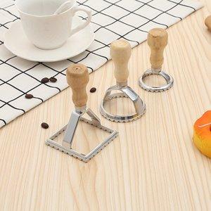 Aleación de aleación de albóndigas Herramienta de albóndigas Dumpling Jiaozi Dispositivo de fabricante de piel Easy Tarjeta de bola de masa de masa Molde de la cocina Gadgets de cocina 3 PCS / SET