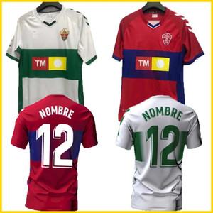 20 21 Elche CF Futbol Formaları Eve Uzakta Rodriguez 8 Fidel 16 Calvo 12 Milla 11 Josan 17 Folch 4 2020 2021 Jersey Futbol Gömlek Adam Üst