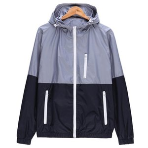 Woqn vestes femmes printemps nouveau mode veste femme manteau à capuche de base veste de base décontracté brise-vent mince femme d'extérieur JK106