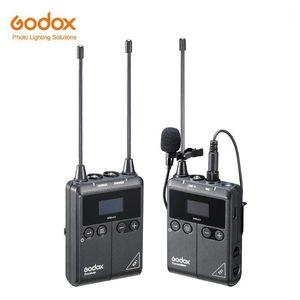 Godox WMicS1 Transmitter with Receiver UHF Wireless Microphone System Worry-free Wireless up to 100m for Sony Nikon Canon DSLR1