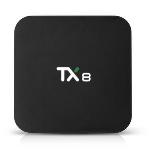 Tanix TX8 Android 9.0 RK3318 Smart TV Box 4GB 32GB 2.4G 5G WIFI bluetooth 4.0 4K Set Top Box