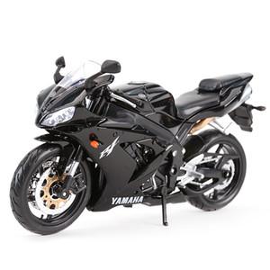 Maisto 1:12 Yamaha yzf-r1 Vehículos de fundición de Die Collectible Hobbies Motorycle Model Toys Y1130
