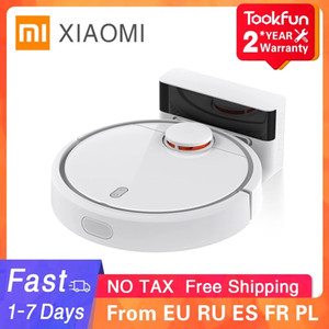 XIAOMI MIJIA Mi Sweeping Mopping Robot Vacuum Cleaners for Home Auto Dust Sterilize 2500PA Cyclone Suction Smart Planned WIFI
