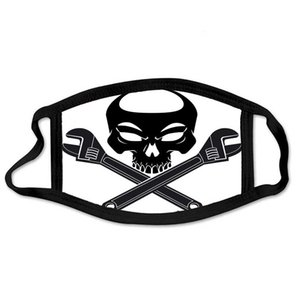 Skull Outdoor Face Mask Halloween Christmas Mask Human Skull With Crossed Adjustable Outdoor Sports Dust Proof Breathable Face Masks