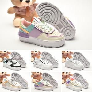 FORCE 1 Shadow 2021 сил 1 тень большие детские туфли для детского воздуха дети мальчики одной девушки Dunks Trainers спортивные кроссовки обувь размером 24-35