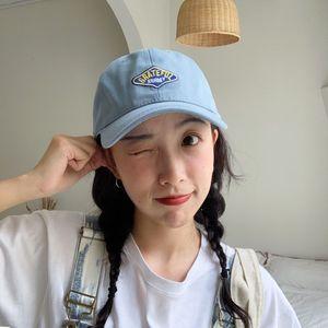 Designer Baseball Caps Summer Women Letter Embroidery Sun Hat Snapback American Style Designer Adjustable New Fashion 2020 Blue